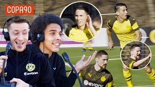 Mind Control Challenge ft. Reus & Witsel | Borussia Dortmund Special with pumafootball Video