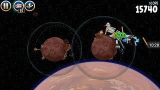 Прохождение Angry Birds Star Wars #2 [Планета Татуин *2] (Тоже легко!)