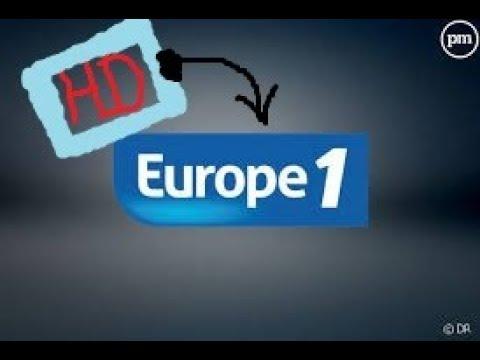 Europe 1 entre 11h30 midi de 40 minutes avec la radio Europe une anim HNSoFR en HD