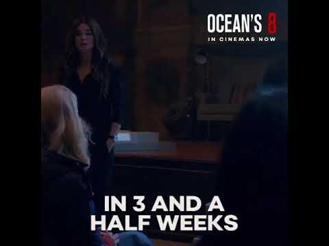 @WarnerBrosUK Presents Oceans 8 🎥. In 🎦NOW