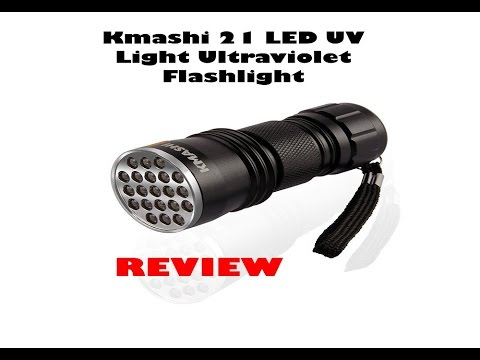 UV WF-501B LED 365NM Ultra Violet Blacklight Flashlight Torch 18650 Light Lam Ly