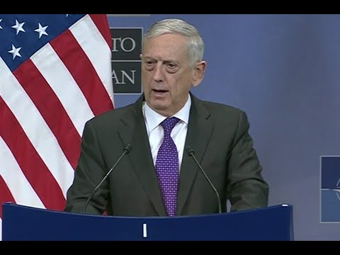 BREAKING: Secretary Mattis Gives URGENT Speech at NATO Headquarters