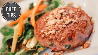Chicken Burger Patties - Thai Chicken Patties Recipe