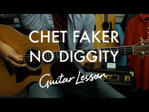 Chet Faker - No Diggity (Guitar Tutorial/Lesson) - YouTube