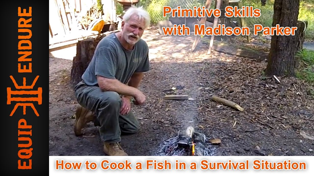 How to cook fish in a survival situation by equip 2 endure for How to cook a fish