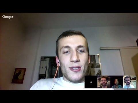 Vegan HangoutsOnAir : με Ιάκωβο Δραγώνα Κωσταντίνο Κοτσώνη Ασβό  A Vegan Brain! Συνδέσου ;)