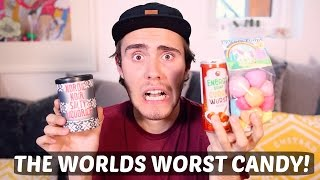 TRYING THE WORST CANDY!