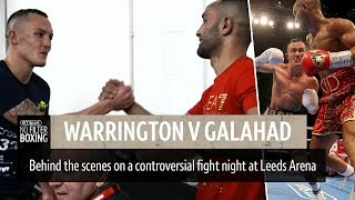 Warrington v Galahad behind the scenes on fight night   No Filter Boxing episode