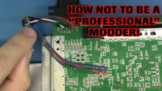 How NOT to be a Professional Modder!