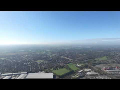 Manchester Trafford Park - DJI Phantom 3 Pro - HD