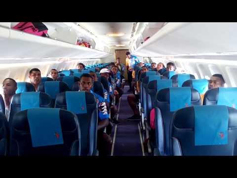 Nadi Aviators traveling to Papua New Guinea