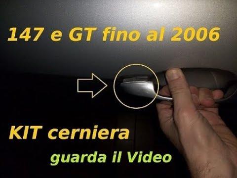 Kit Cerniera Riparazione Maniglia Alfa Romeo 147 Gt Fiat 500 Youtube