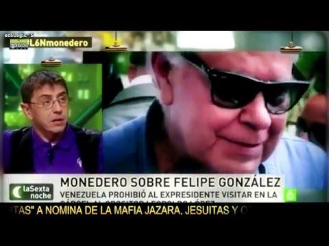 Juan Carlos Monedero Sobre #Venezuela Y Felipe Gonzalez #CIA Codename; #Isidoro