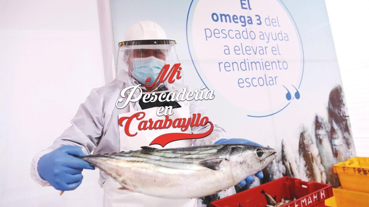 "Feria ""Mi Pescadería"" llegó a Carabayllo"