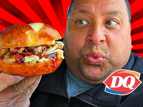 DQ® Kansas City BBQ Pulled Pork Sandwich REVIEW!