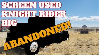 Knight Rider Semi found ABANDONED for 15 Years! Can We Rescue It? Screen Used GMC General for KITT!