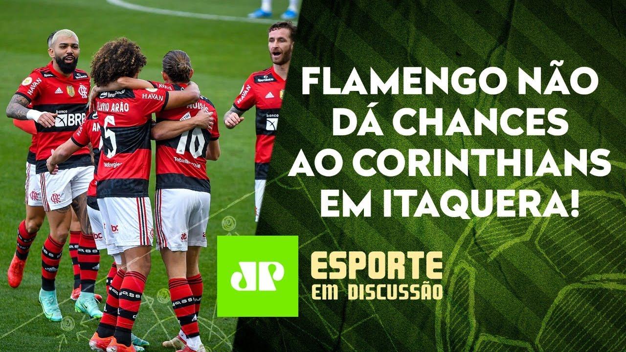 Flamengo PASSA POR CIMA do Corinthians | São Paulo SE REVOLTA após Choque-Rei | ESPORTE EM DISCUSSÃO