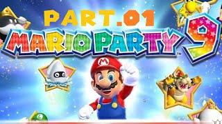 Mario Party 9 Solo Walkthrough Part 1