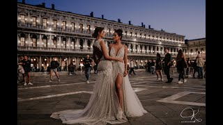 KozaricsViktorDress  2020 newest bridal dress collection shooted in Italy- Amore Venezia collection