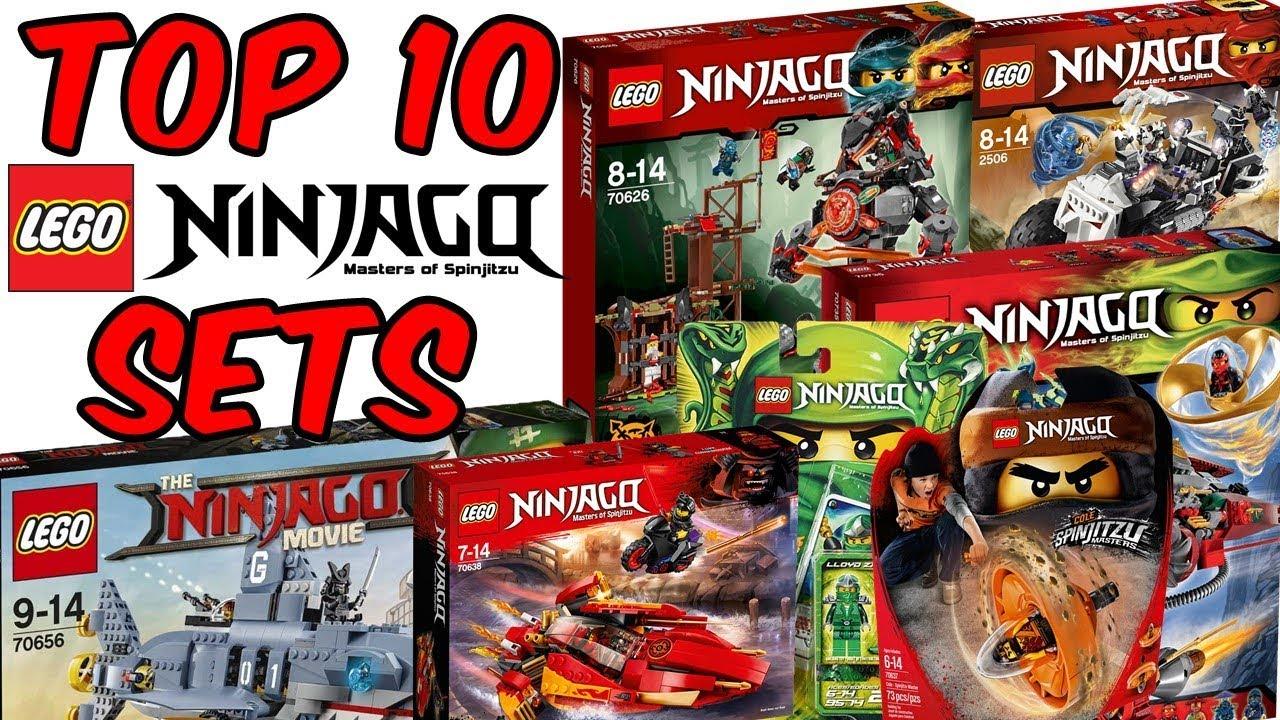 Top 10 Lego Ninjago Sets Ever Made 2011 2018 Youtube