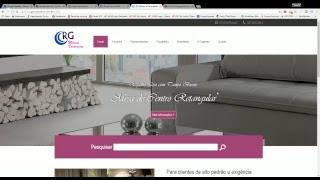 Site Institucional RG Móveis e Decorações - Desenvolvimento de sites em São Bento do Sul