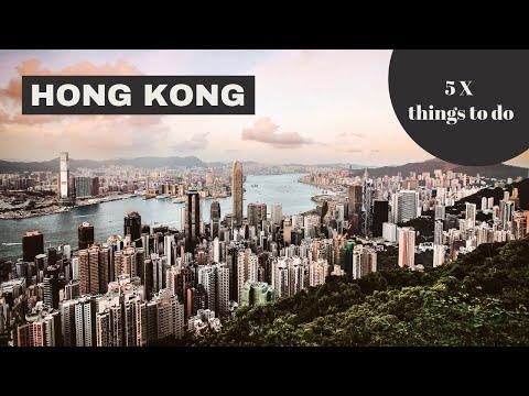 5 Things To Do in Hong Kong // City Guide