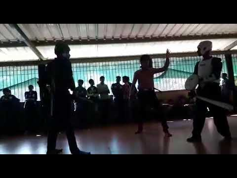 martial art fight