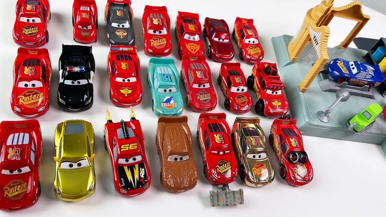 22 Машинки ТАЧКИ Молния Маквин - машинки и новый игровой набор из мультика Cars McQueen
