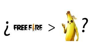 Ce que Free Fire fait mieux que Fortnite