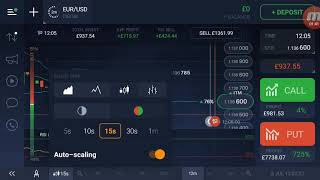 IQOPTION DIGITAL TRADING £715 profit in 1 trade