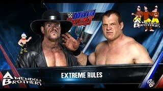 PS4 - WWE 2K16 : Undertaker VS Kane [Gameplay Ita]