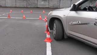 1 Урок на Автодроме с ошибками для Сдачи в ГИБДД в Санкт-Петербурге.