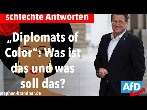 Diplomats of Color – Gute Fragen – schlechte Antworten!