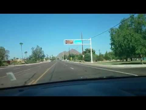 Visiting Phoenix AZ Fun Time Driving Around the city