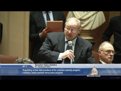 Senate Advances Health Care Reinsurance Plan