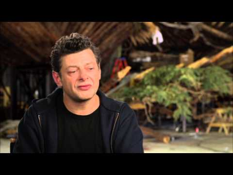 "Dawn Of The Planet of the Apes: Andy Serkis ""Caesar"" Behind the Scenes Interview 1 of 2"