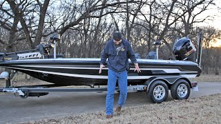 The New Bass Boat is Here!