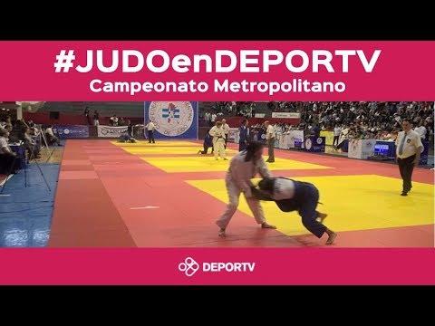 #JUDOenDEPORTV:  Campeonato Abierto Metropolitano 2017
