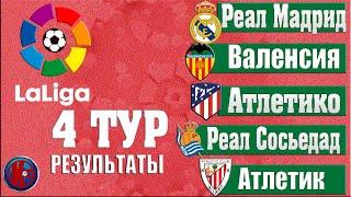 Футбол Обзор Ла Лига 4 Тур Результаты Чемпионат Испании 21 2022 Расписание Таблица