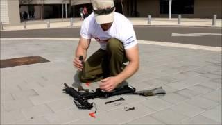 פירוק והרכבה M16 לגיבושים