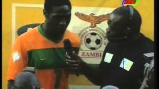 Jacob Mulenga after Zambia (Chipolopolo ) vs Lesotho match