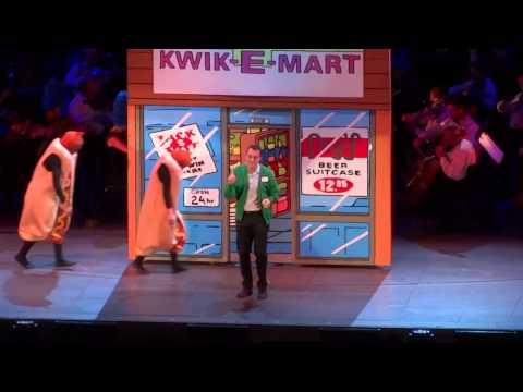 140913 - Hank Azaria (Apu) - Kwik-E-Mart @ The Simpsons Take the Hollywood Bowl~