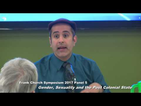 Frank Church Symposium 2017:   Panel 5:  Gender