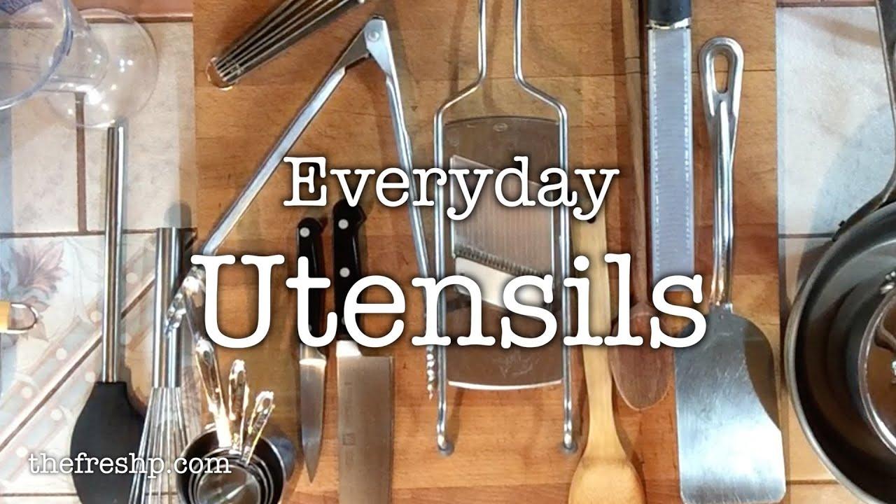 Kitchen Essentials Utensils Part I