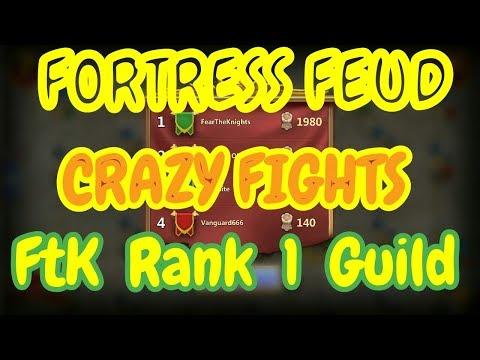 FORTRESS FEUD I Rank 1 Guild L Crazy Fights L Castle Clash