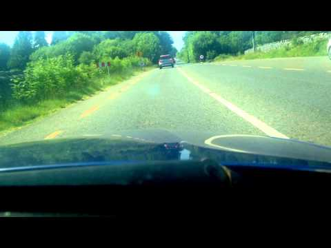 Summer drive from Galway to Moycullen