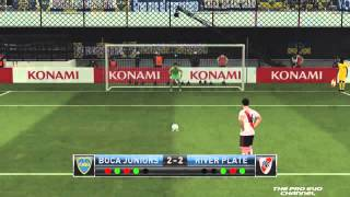 PES 2015 - Boca Juniors Vs River Plate [Penalty Shootout]