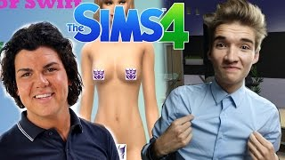 MANNELIJKE HOER & ROY DONDERS MAKE OVER? - The Sims 4 #85