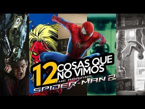 12 Cosas que no vimos en Amazing Spider-Man 2