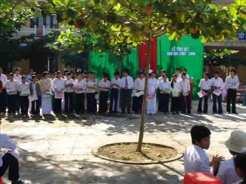 Mot vai hinh anh hoat dong cua Truong THPT Ba To   Quang Ngai